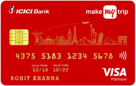 Want a credit card that lets you earn multiple rewards and benefits? MakeMyTrip ICICI Bank Platinum Credit Card is for you. Here's how to apply...