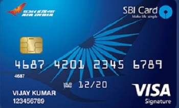 Looking for a credit card that offer reward points and packages as welcome gifts? SBI Air India Signature Card is your best option. Here's how to apply: